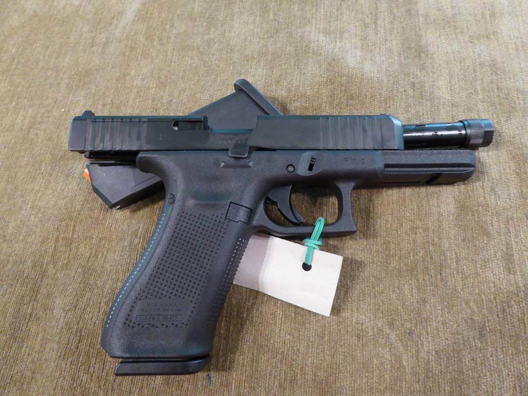 Pistolet Glock 17 gen 5 Mos FS kal  9mmP - Broń palna